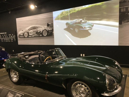 1956 Jaguar XKSS owned by Steve McQueen
