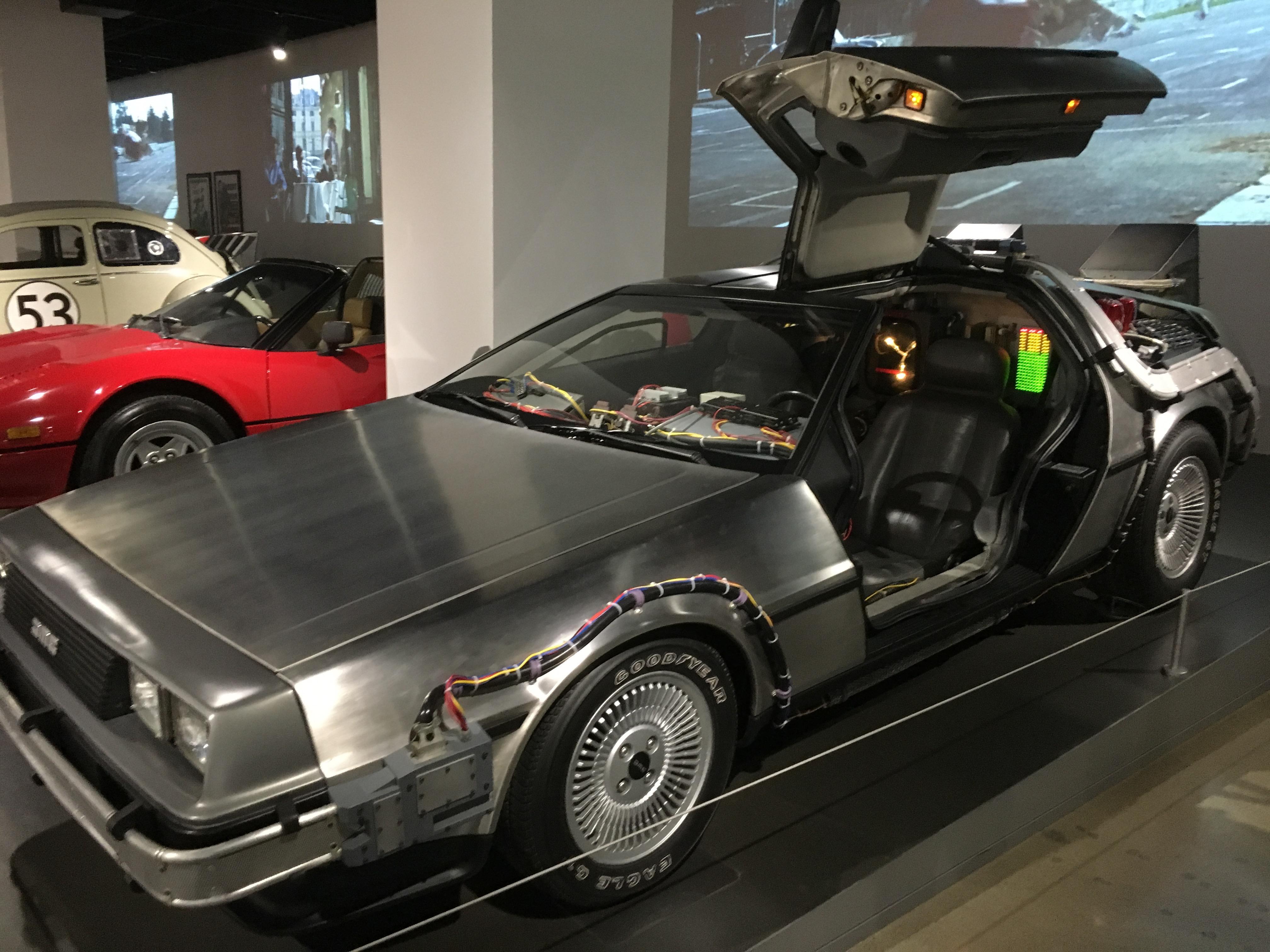 1981 Delorean Time Machine, Back to the Future