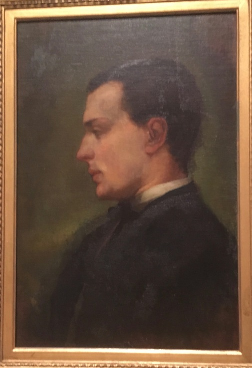 Henry James 1862 oil by John La Farge