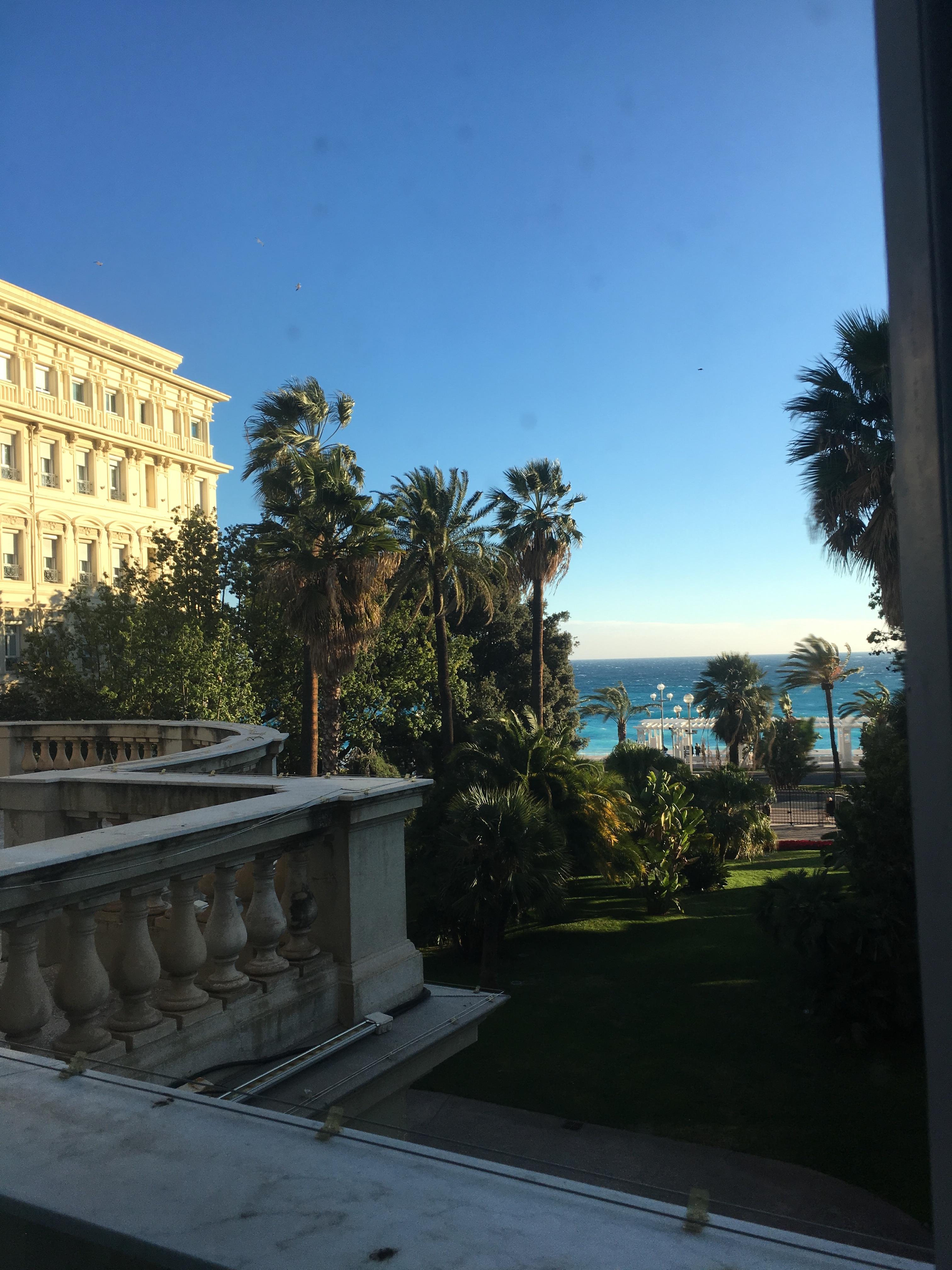 Massena Museum view from window